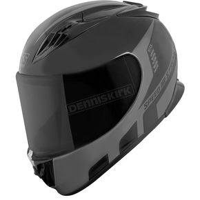 Speed and Strength Gray/Black Lightspeed SS3000 Helmet - 876169