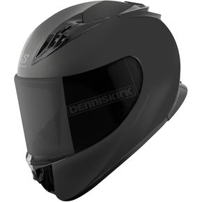 Speed and Strength Matte Black Solid Speed SS3000 Helmet - 876177