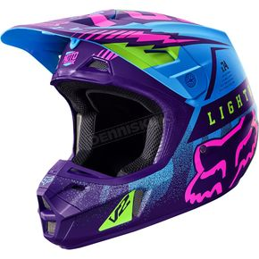 Fox Blue Vicious SE V2 Helmet - 18141-002-XL