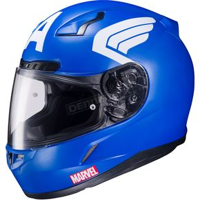 HJC Marvel CL-17 MC-2F Captain America Helmet - 57-9729T