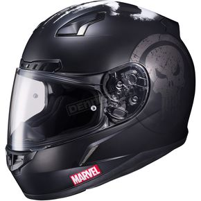 HJC Marvel MC-5F CL-17 Punisher Helmet - 57-9758