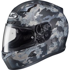 HJC Flat Dark Gray/Light Gray CL-17 Void Helmet - 57-9654