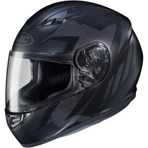 HJC Flat Black MC-5F CS-R3 Treague Helmet - 55-9251