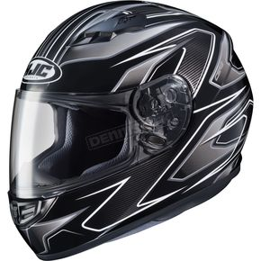 HJC Black/Silver MC-5 CS-R3 Spike Helmet - 55-9158