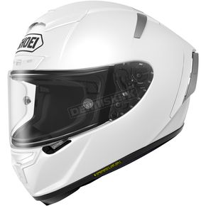 Shoei Helmets White X-Fourteen Helmet - 0104-0109-08