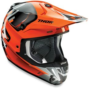 Thor Orange/Gray Verge Vortech Helmet - 0110-4731