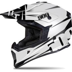 509 White/Black Contrast Tactical Helmet - 509-HEL-TCO-XL