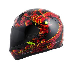 Scorpion Red EXO-R410 Dr. Sin Helmet - 41-9688
