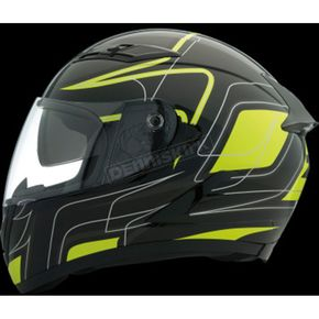 Z1R Black/Hi-Viz Yellow Strike OP SV Helmet - 0101-9097