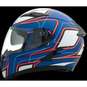 Z1R Blue/Red/White Strike OP SV Helmet - 0101-9117