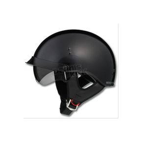 GMax Gloss Black GM65 Full Dress Half Helmet - G9650028