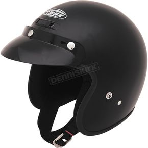 GMax Flat Black GM2 Open Face Helmet - G102074