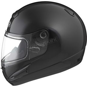 GMax Black GM38S Snowmobile Helmet w/Dual Lens Shield - 72-6160M