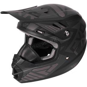 FXR Racing Youth Black Ops Throttle Battalion Helmet - 170668-1010-13