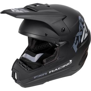 FXR Racing Black Ops Torque Recoil Helmet - 170620-1010-19