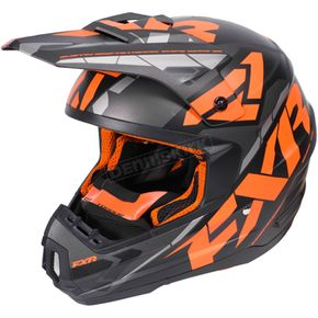 FXR Racing Black/Flo Orange/Charcoal Torque Core Helmet - 170621-1033-13