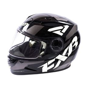FXR Racing Youth Black/White/Charcoal Nitro Core Helmet - 170662-1001-10
