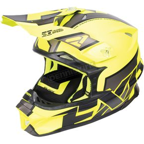 FXR Racing Hi-Vis/Charcoal/Black Blade Clutch Helmet - 170601-6508-16