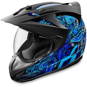 Icon Blue Variant Cottonmouth Helmet - 0101-9176