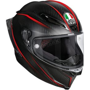 AGV Black/Red Pista GP R GP-9 Helmet - 6021O2HY00108