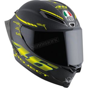 AGV Black/Yellow Pista GP R GP-46 2.0 Helmet - 6021O0HY00109