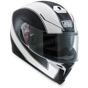 AGV White/Black K-5 S Enlace Helmet - 0041O2HY00211