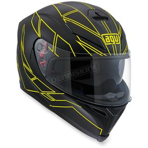 AGV Flo Yellow K-5 S Hero Helmet - 0041O2HY00410