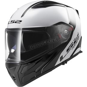 LS2 White/Gray/Black Metro Rapid Modular Helmet - 324-1202