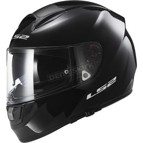 LS2 Gloss Black Citation Helmet - 397-6001