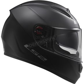 LS2 Matte Black Citation Helmet - 397-6015