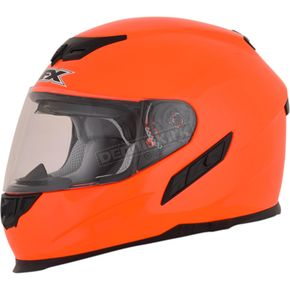 AFX Safety Orange FX-105 Solid Helmet - 0101-9721