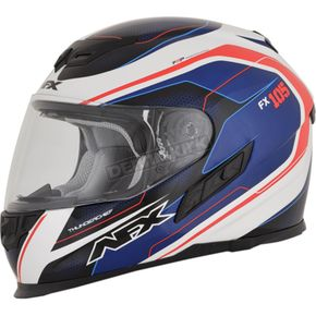 AFX Red/White/Blue FX-105 Thunderchief Helmet - 0101-9748