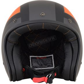 AFX Frost Gray/Orange/Black FX-76 Tricolor Helmet  - 0104-2087