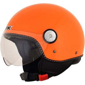 AFX Safety Orange  FX-33 Scooter Helmet - 0106-0691