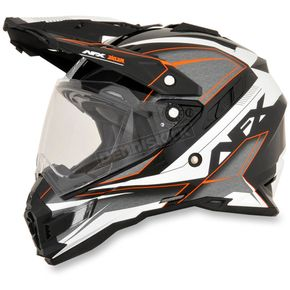 AFX Orange FX-41DS Dual Sport Eiger Helmet - 0110-4963