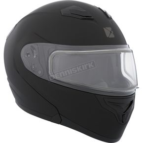 CKX Matte Black Flex RSV Snow Modular Helmet w/Electric Shield - 506034