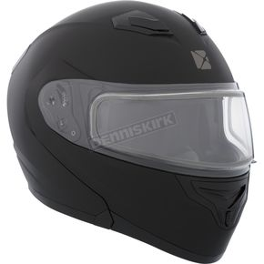 CKX Black Flex RSV Snow Modular Helmet w/Electric Shield - 506044