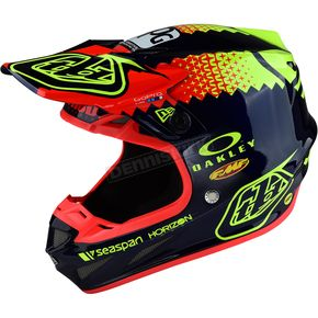 Troy Lee Designs Navy Team Edition Composite SE4 Helmet - 101122303