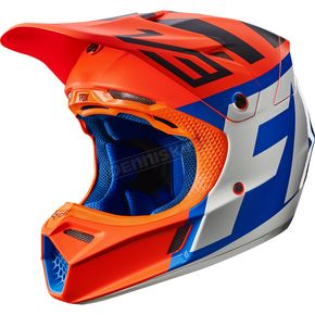 Fox Orange V3 Creo Helmet - 19094-009-L