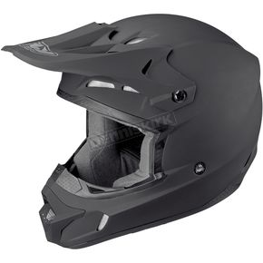 Fly Racing Matte Black Kinetic Helmet - 73-3480L