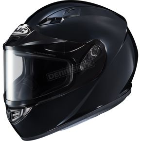 HJC Black CS-R3 Snow Helmet w/Framed Dual Lens Shield - 55-19009