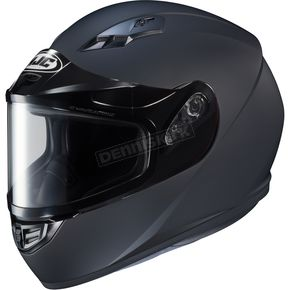 HJC Matte Black CS-R3 Snow Helmet w/Framed Dual Lens Shield - 55-19086