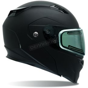 Bell Helmets Matte Black Revolver EVO Snow Helmet w/Electric Shield - 7076232