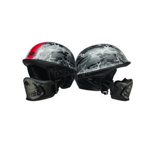 Bell Helmets Black/Silver Rogue Ghost Recon Camo Helmet - 7081197