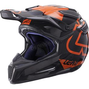 Leatt Black/Orange GPX 5.5 Composite V15 Helmet - 1017110445