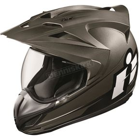 Icon Black Variant Double Stack Helmet  - 0101-9995