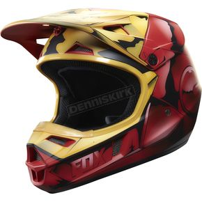 Fox Youth Iron Man V1 Helmet - 19976-003-M