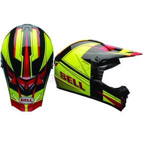 Bell Helmets Red/Yellow SX-1 Holeshot Helmet - 7080921