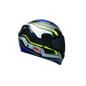Bell Helmets Black/Blue/Yellow Qualifier Torque Helmet - 7081186