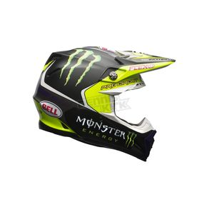 Bell Helmets Black/Green Moto-9 Flex Monster Energy Pro Circuit 2017 LE Helmet - 7084373